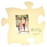 Personalized, Puzzle Photo Frame, Ivory