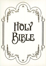 KJV Family Record Edition Bible  - Imperfectly Imprinted Bibles