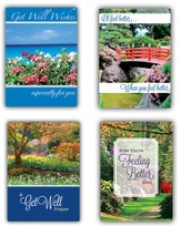 Landscapes Get Well Cards, Box of 12