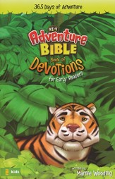 The Adventure Bible for NIrV: Book of Devotions for Early Readers: 365 Days of Adventure - eBook