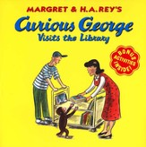 Curious George Visits the Library, Softcover