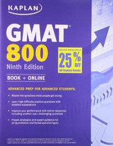Kaplan GMAT 800 International Edition