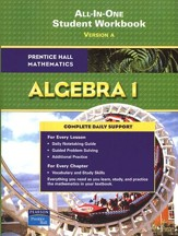 Prentice Hall Mathematics: Algebra 1 Student Workbook