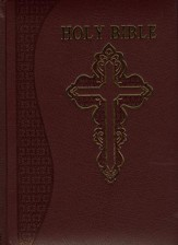 NABRE Catholic Heritage Edition, Burgundy Bonded Leather - Slightly Imperfect