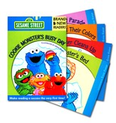 Cookie Monster's Busy Day: Brand New Readers
