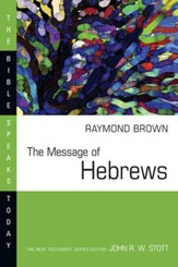 The Message of Hebrews - eBook