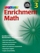 Spectrum Math Enrichment Grade 3