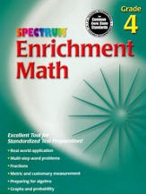 Spectrum Math Enrichment Grade 4