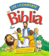 Biblia Lee y comparte: para manos pequenas - eBook