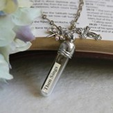 Then Sings My Soul, Message In A Bottle Necklace