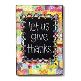 Let Us Give Thanks Wall Art