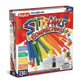 Straws & Connectors, Primary Colors Edition--pack of 230