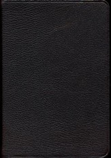 NIV Pitt Minion Reference Bible, Goatskin Leather, brown - Slightly Imperfect