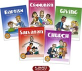 Bible Wordbooks for Kids - 5 Pack