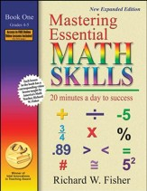 Mastering Essential Math Skills, Revised Edition: Book One