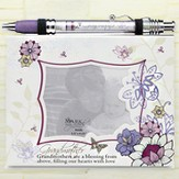 Notepad Frame and Banner Pen Set, Grandmother