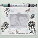 Notepad Frame and Banner Pen Set, Aunt