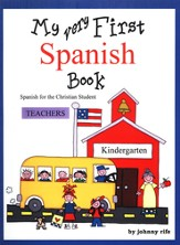 MY Very First Spanish Book - Teacher's edition with CD