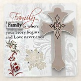 Family is Where Your Story Begins Plaque