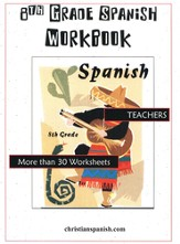 8th Grade Spanish for the Christian Student-Teacher's Guide