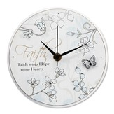 Faith Brings Hope Clock