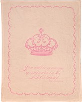 Crown Of Splendor Fleece Throw, Pink