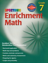 Spectrum Enrichment Math, Grade 7