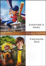 Everyone's Hero/Firehouse Dog, Double Feature DVD