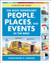 The Most Significant People, Places, and Events in the Bible: A Quickview Guide - eBook