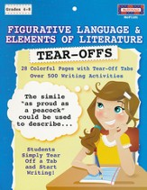 Figurative Language & Elements of Literature Tear-Offs, Grades 4-8