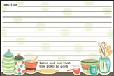 Taste and See That the Lord is Good, Recipe Cards, Pack of 36