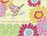 Trust in the Lord, Blank Note Cards, Box of 8