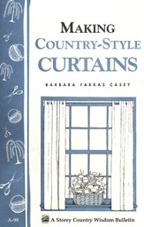 Making Country-Style Curtains (A-98)