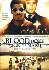 Blood Done Sign My Name, DVD