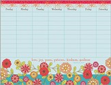 Love, Joy, Peace, Patience, Kindness, Goodness Hanging Calendar Pad