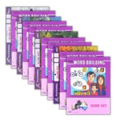 Grade 1 Word Building SCORE Keys 1001-1012 (with 4th Edition Score Keys 1007, 1010 & 1012)