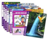 Grade 2 Word Building PACEs 1013-1024 (with 4th Edition  PACEs 1013, 1015, 1017 & 1018)