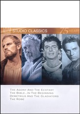 The Agony & The Ecstacy/The Bible...In The Beginning/Demetrius  and the Gladiators/The Robe, Multi Feature DVD
