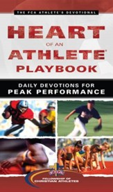 Heart of an Athlete Playbook: Daily Devotions for Peak Performance - eBook