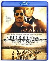 Blood Done Sign My Name, Blu-ray