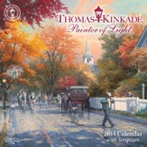 2014 Mini Wall Calendar, Thomas Kinkade, Painter of Light