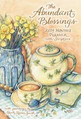 2014 Monthly Planner, Abundant Blessings