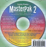 MasterPak 2 on CD-ROM