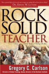 Rock-Solid Teacher: Discover the Joy of Teaching Like Jesus - eBook