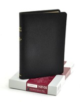 NIV Pitt Minion Reference, French Morocco leather, black 1984