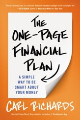 The One-Page Financial Plan: A Simple Way to Be Smart About Your Money - eBook