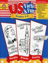 U.S. Facts & Fun, Grades 4-6