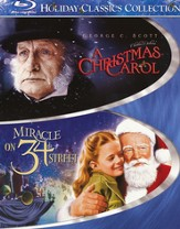 A Christmas Carol/Miracle on 34th Street, 2 Blu-ray Set