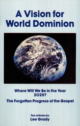 A Vision for World Dominion Booklet
