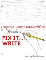 Fix It . . . Write